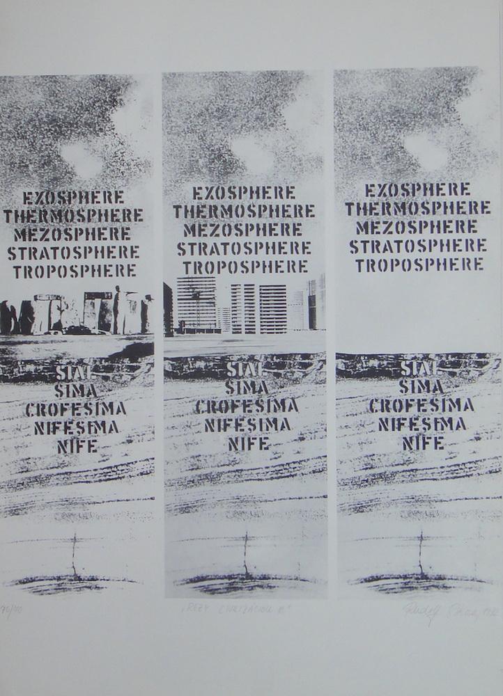 1972, Rezy civilizáciou III., serigrafia, číslo 70/70, 50x70