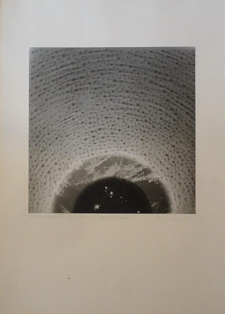 1981, z cyklu Noosféra, fotografia, 29,5x29,5 cm