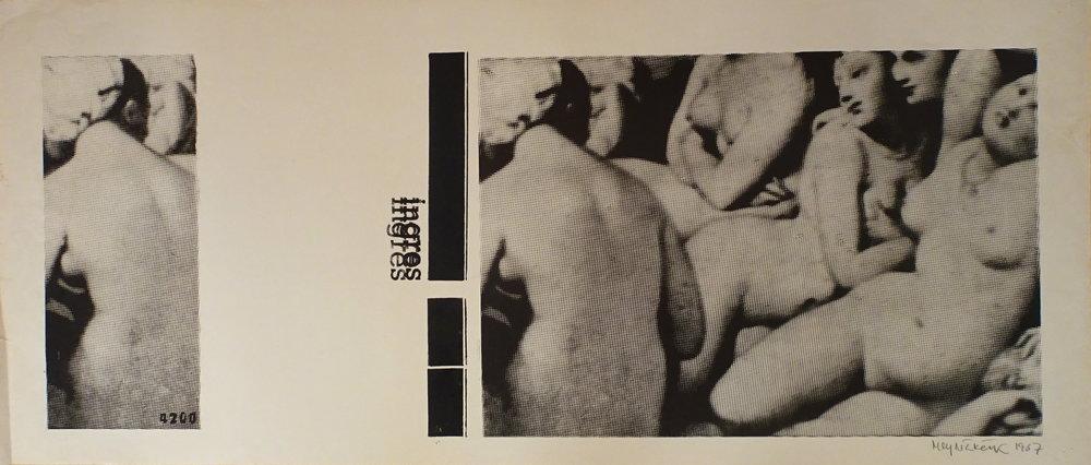 Mlynárčik Alex, 1967, Ingres, monotypia, 41x100.JPG