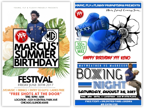 promotions young fly flashy entertainment