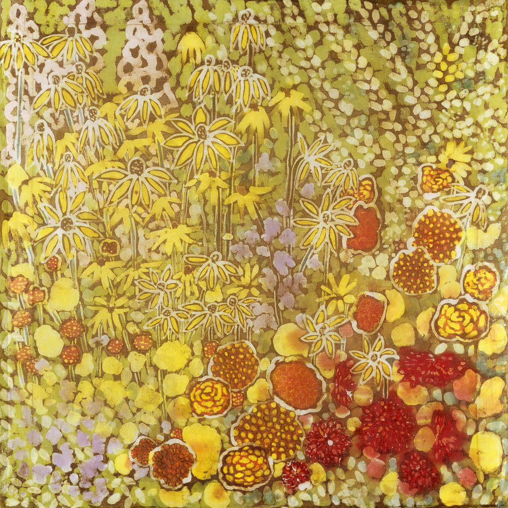 'Bordeaux ii' Batik painting.jpg