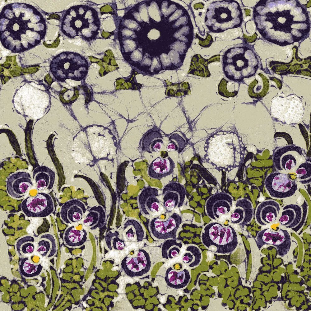 Purple Bindweed & Violets batik.jpg