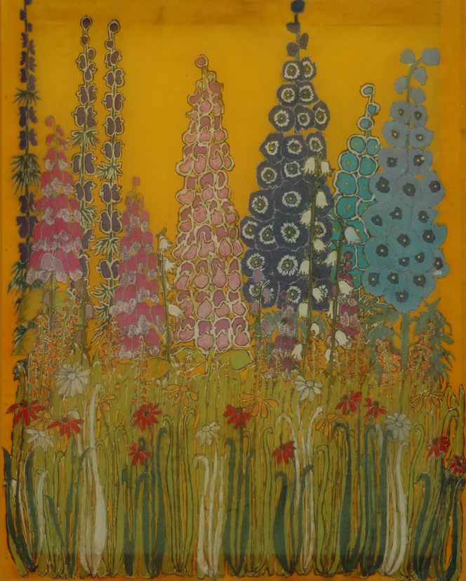 The Garden- Batik painting by Layla Tutt.jpg