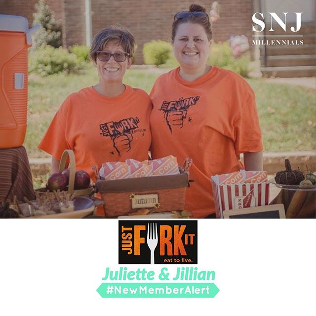 "#NewMemberAlert 🚨 ::: Welcome Juliette & Jillian (mother/ daughter duo) of Just Fork It to the SNJ Millennials community! ::: Juliette's first memory of loving to cook came from her grandmother Egilda. Cooking zeppolis and meatballs from scratch. Her grandmother would give her a quarter and she would run up to the market to buy the cream cheese. She can still see herself kneeling on a chair as she watched and tried to mimic her every move. She taught her to cook without recipes or measure spoons but rather with taste and touch. Brought the same teachings to her children when they were little. As soon as they could stand, she had them next to her on a stool cooking away. The idea of having a restaurant and being a cook was always a dream. Worked in Dialysis for years feeding her patients and fellow staff members using them as her testers. They would always say ""Hey Jules when you getting that restaurant?"" Decided one day in mid 2017 that it was time to live her dream and what better way to do it then with her family. Went and bought a slightly used but beautiful Food Cart and told her daughter our dream is sitting in our driveway. (...)"