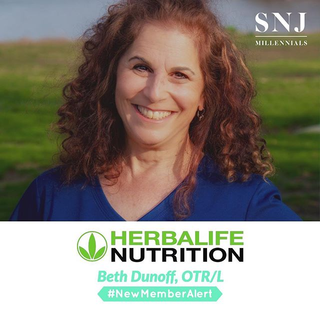 "#NewMemberAlert 🚨 ::: Let's give a warm welcome to Beth Dunoff, OTR/L of Herbalife Nutrition as our newest member to the SNJ Millennials community! ::: Beth's passion is to change the lives of families, and communities through health coaching, nutrition, fitness, cardio drumming, healthy catering, and inspirational speaking events. ::: She has been in healthcare for 30 years, which was the driving force for her career as a Health Coach with Herbalife Nutrition. Beth sees first-hand the devastating effects of chronic illness: diabetes, renal disease, and dialysis, hypertension, and stroke. Her mission is to teach the public how to live a healthy, active lifestyle to reduce risk factors that can lead to chronic illness. ::: Beth's coaching style is fun, and she offers mobile cardio drumming classes to encourage groups to ""rock out while they work out!"" She provide meal plans, grocery lists, accountability partners, fitness, and follow up. ::: Take her 21-Day Challenge to look good and feel GREAT! ::: Corporate Services: Healthy Catering: Shakes and Teas Mobile Fitness: Cardio Drumming at Work Inspirational Speaker: Millionaire Mindset and Body ::: To see all that Beth has to offer? Visit w8lossnow.goherbalife.com! ::: www.snjmillennials.org • @snjmillennials ::: #SNJMillennials #TheFutureIsHere #PursueYourPotential #JoinToday ..."