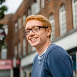 Andrew Taylor, Winner of Blackwood Design Award 2017/18, Graduate University of Bath Mech Eng.