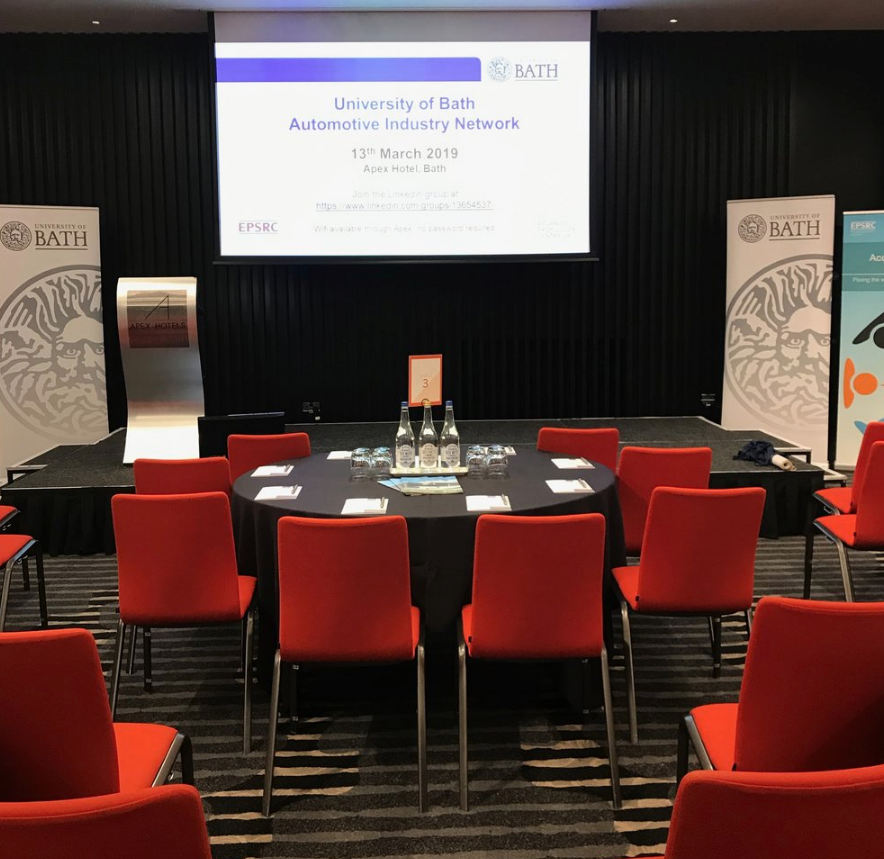 STAGE IS SET FOR THE AUTOMOTIVE INDUSTRY EVENT