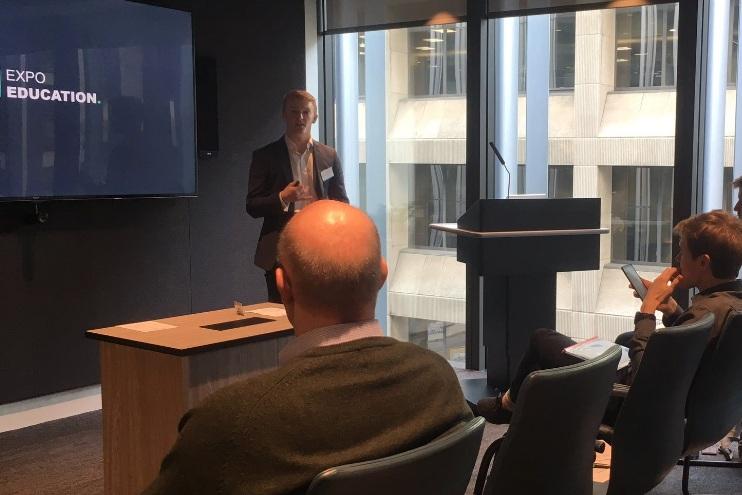 George Griffiths - a 2019 Alumni Innovation Award winner