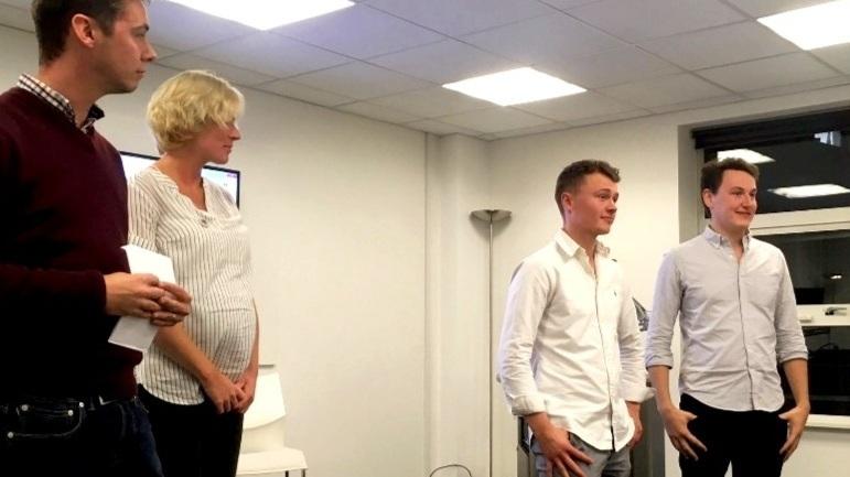 Apps Crunch - Winners Callum Coles & Matt Buckley