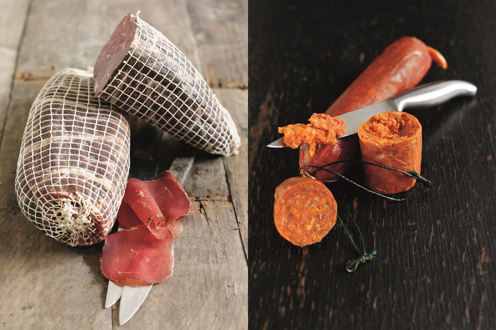 TREALY FARM - Award winning, British charcuterie since 2005. Over 40 unique products showcasing British, free-range meats.