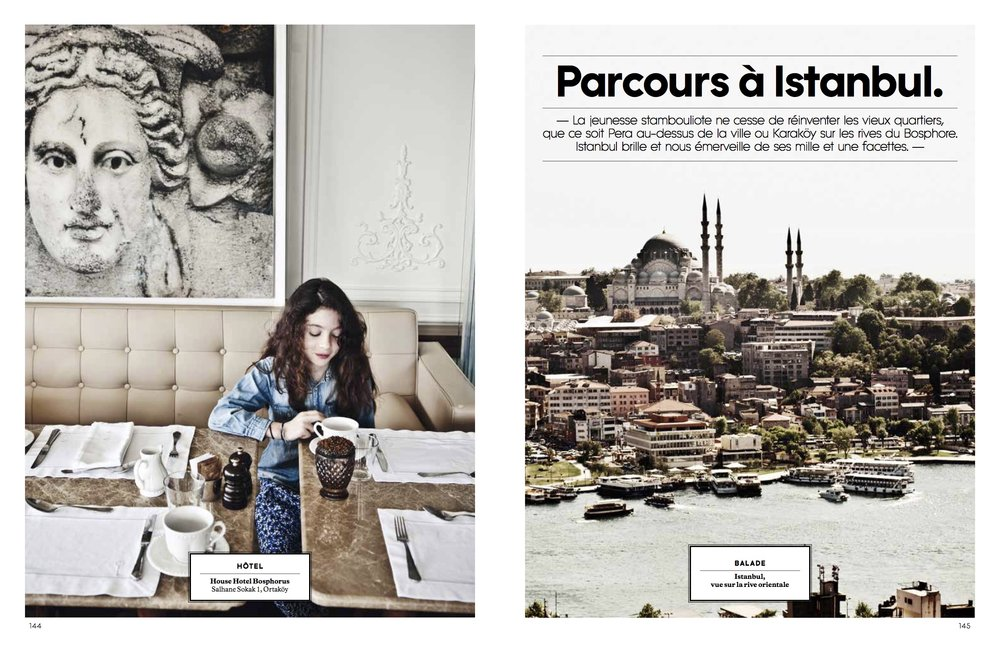 Istanbul City Guide for Milk Decor