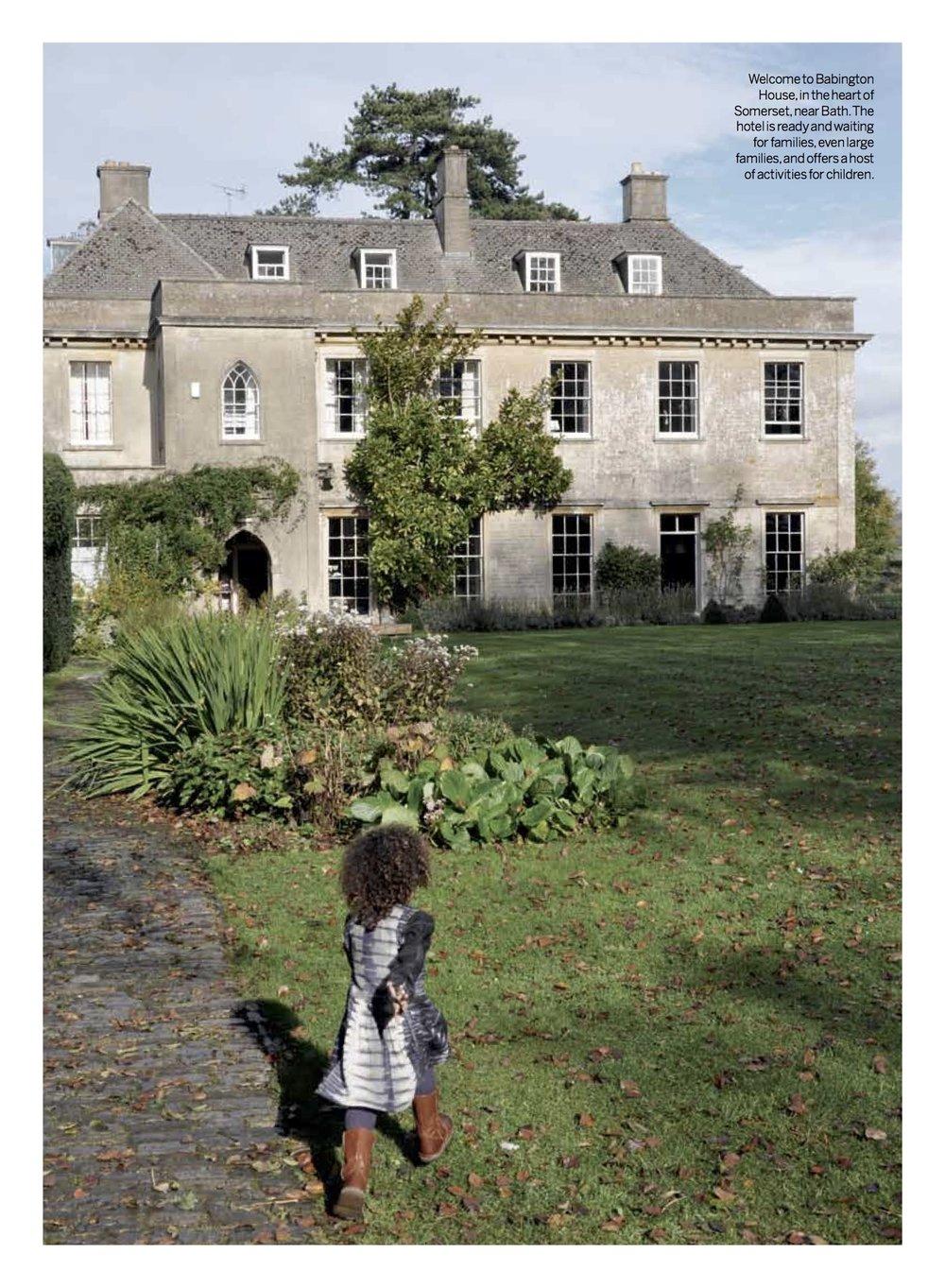 Babington House for a week end