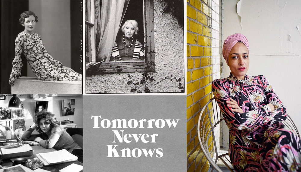 Images (CW): Nancy Mitford // Jean Rhys // Zadie Smith // Logo by  @3Dperson  // Laurie Colwin