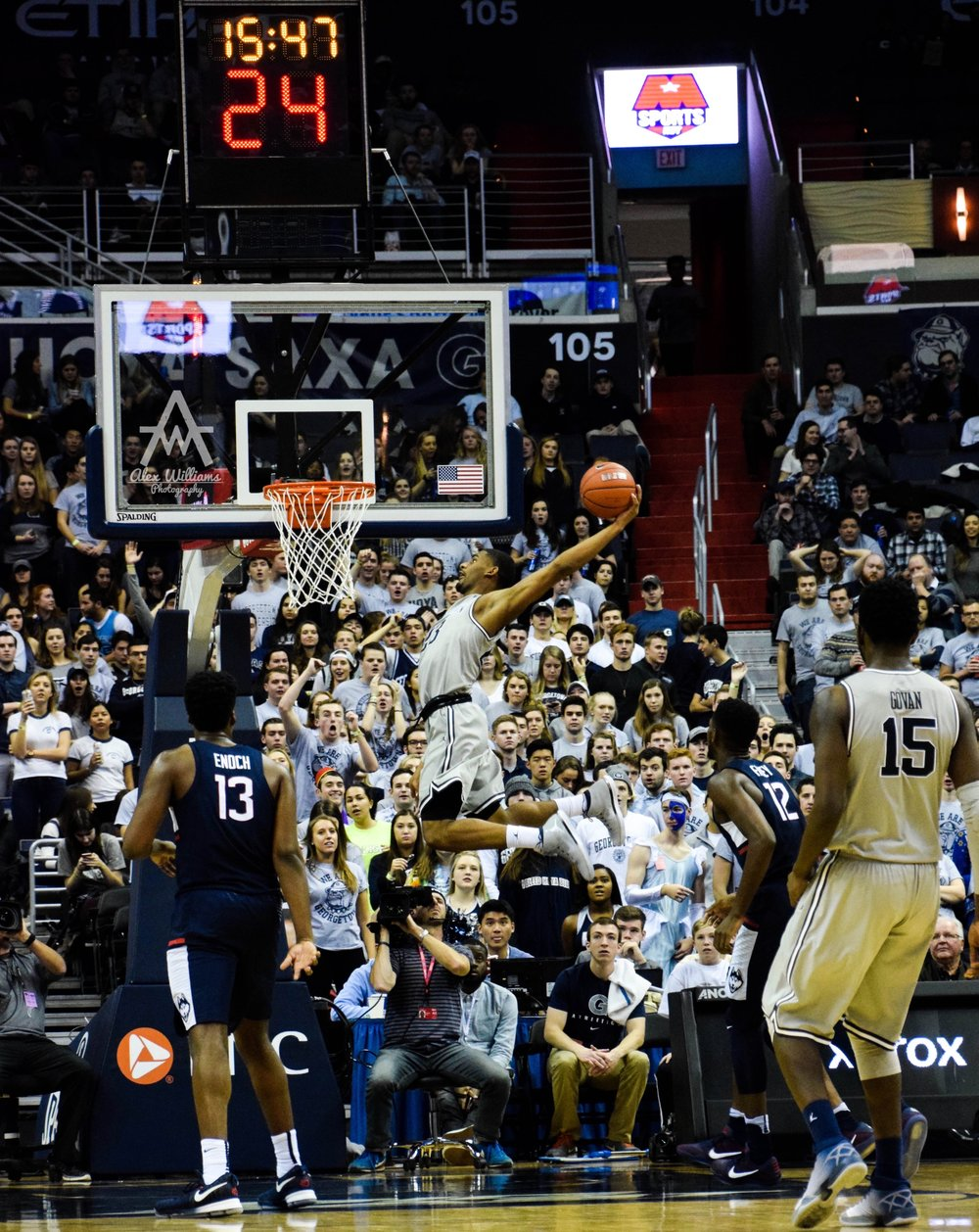 Georgetown vs UConn (Jan 2017)