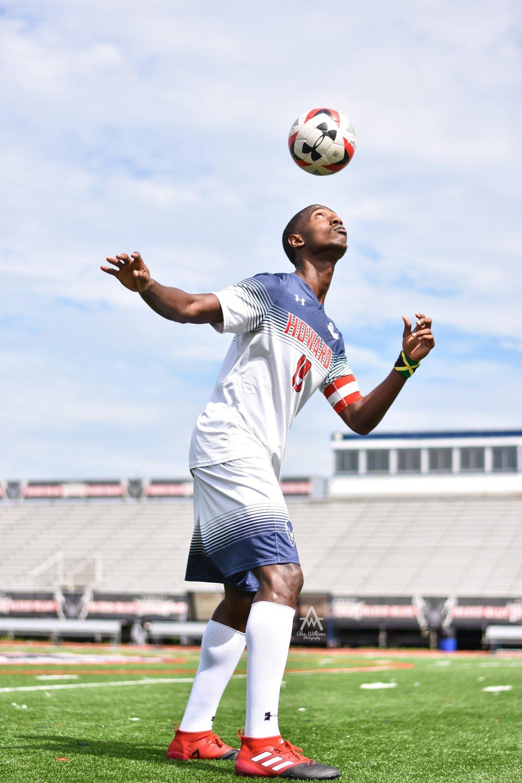Soccer Captain Photoshoot