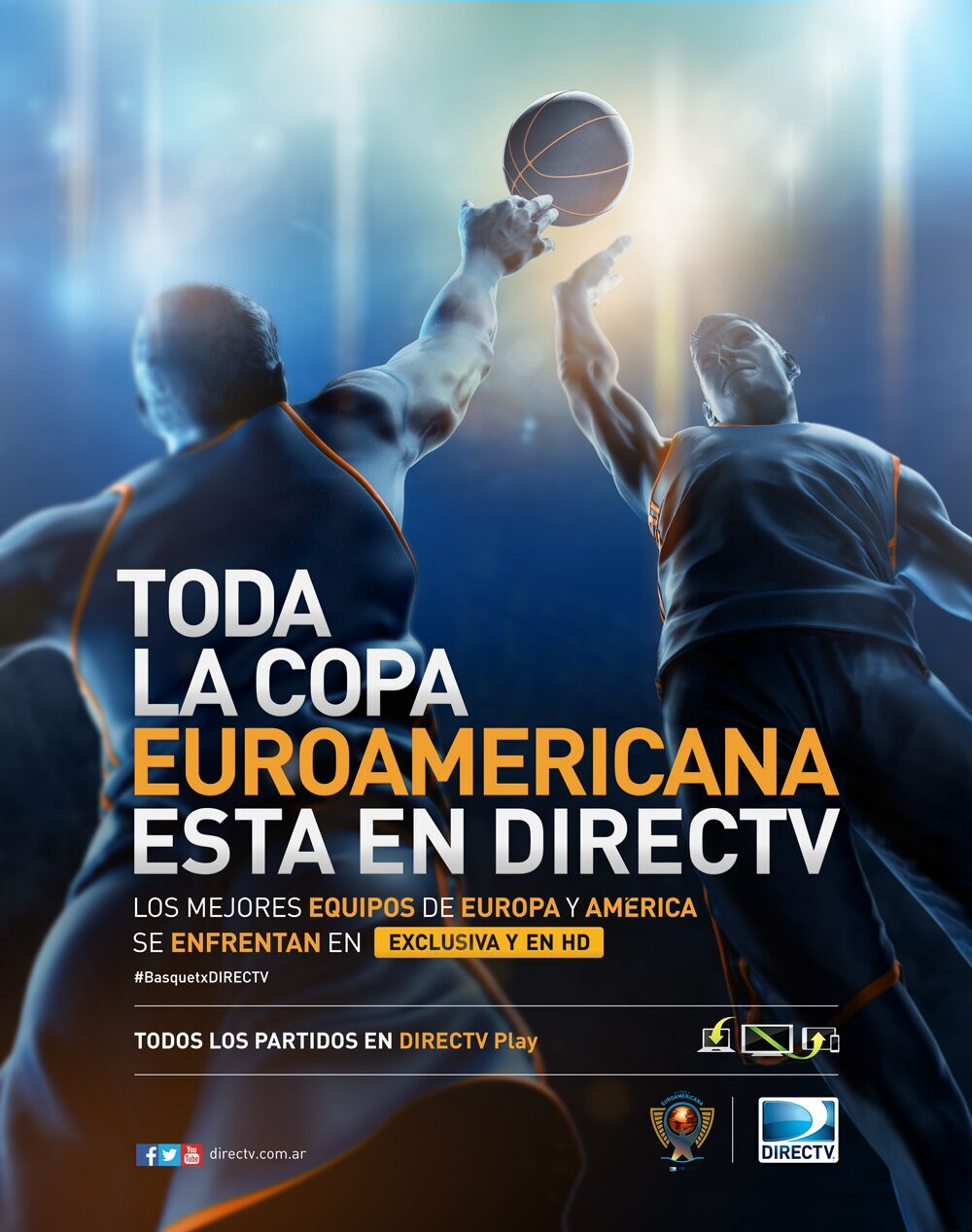 EURO AMERICANA / BASQUET FULL PAGE