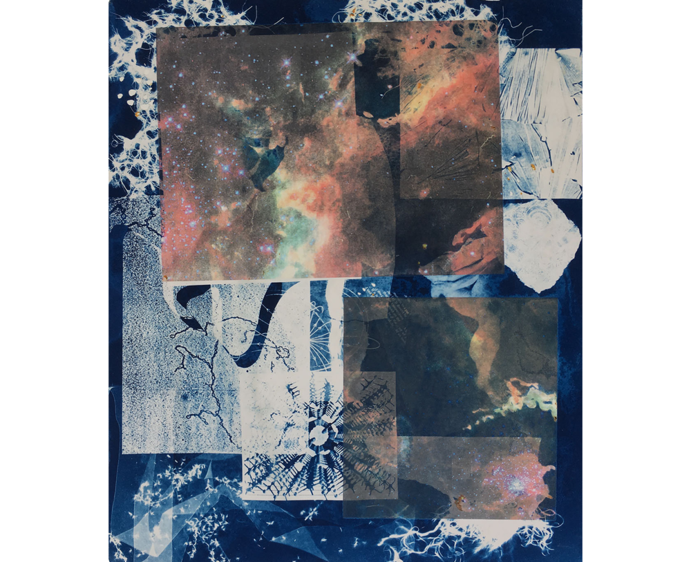 Nebula, 1996. Cyanotype, 22 x 19