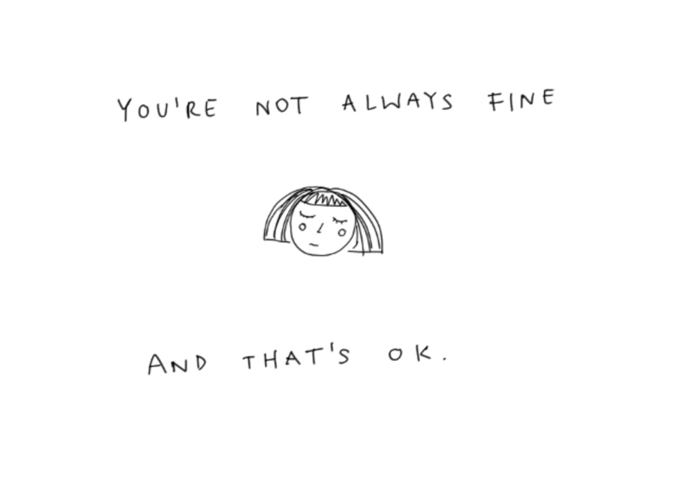 Its ok to not be ok everythingkrys