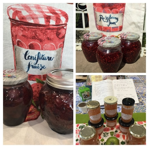 Use your homemade pectin by adding it to your own jam and jelly recipes made of fruit that are low in natural pectin.
