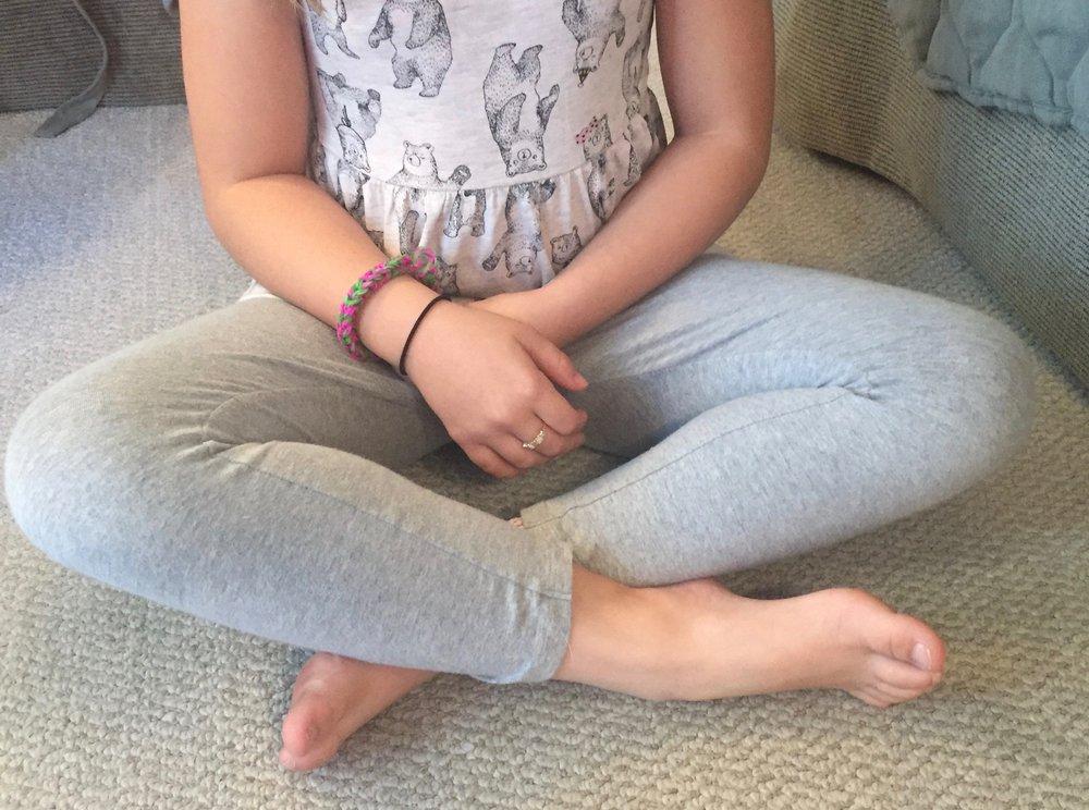 Circle Sitting- Corrected Posture