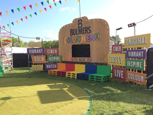 BULMERS COLOURENA FESTIVAL TOUR