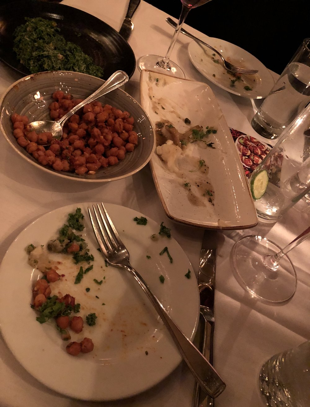 Plates cleared at Crossroads Kitchen