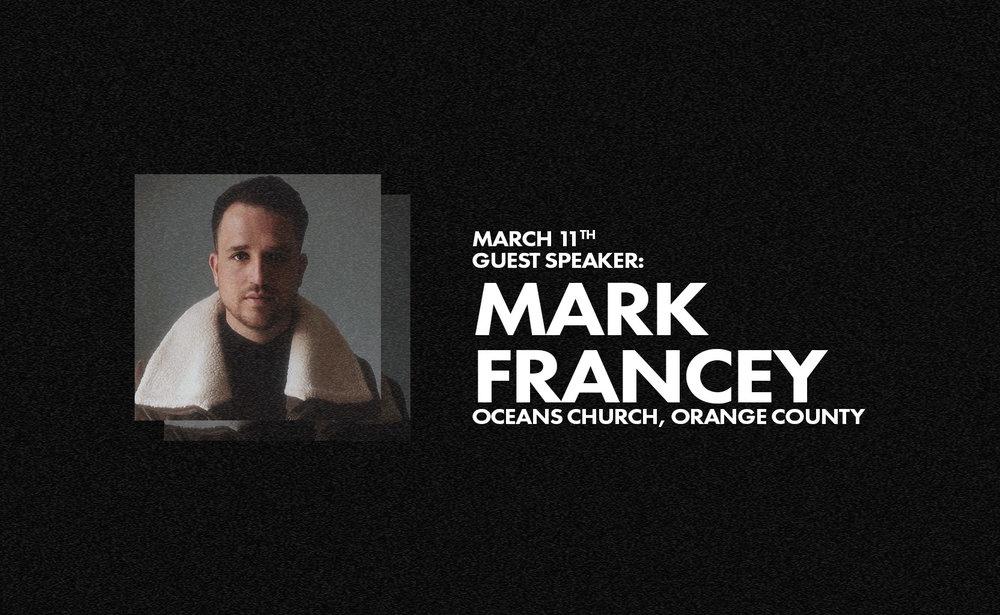 Guest Speaker Mark Francey