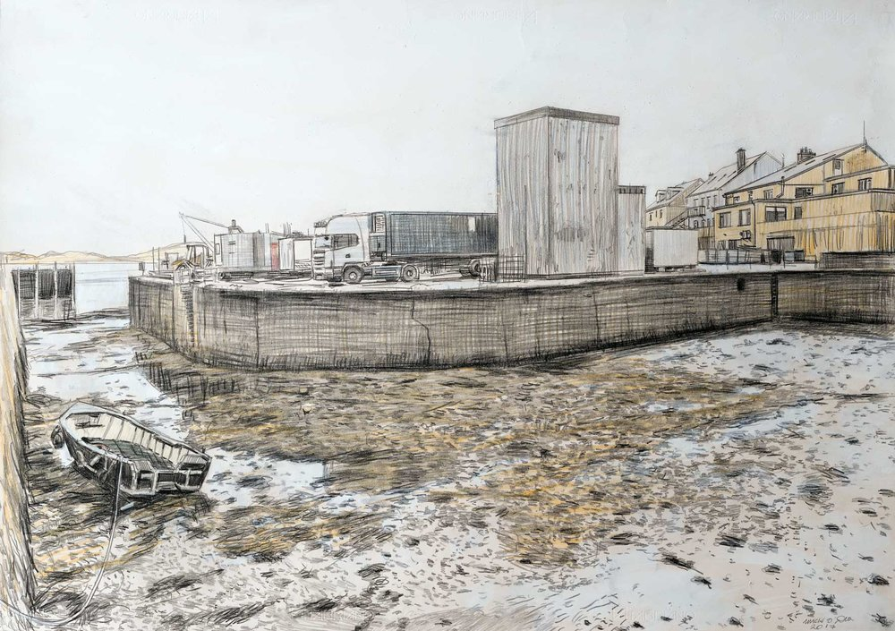 Cleggan-Low-Tide-Pencil-&-White-Wash-On-Paper,-71x100cm.jpg