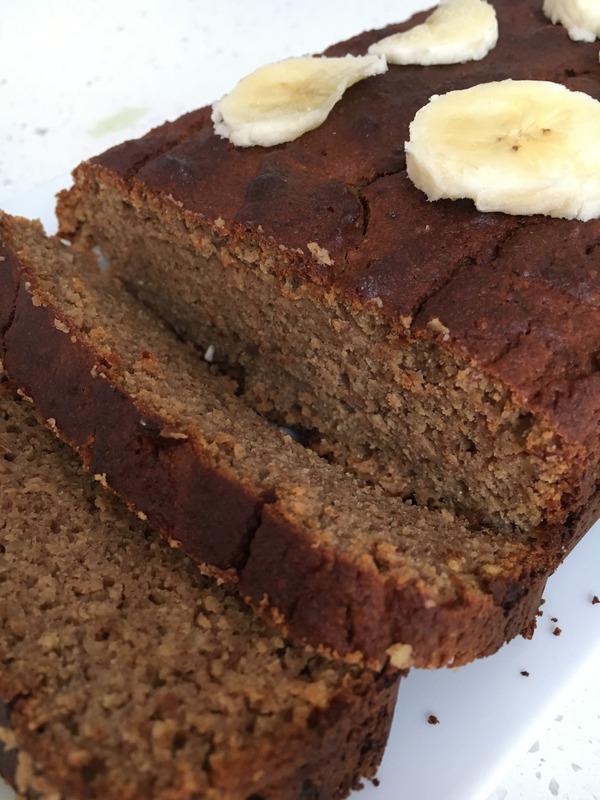 Protein banana loaf nutritionist Brighton