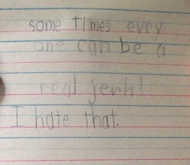 My journal from age 8, 1987. Feeling it today!
