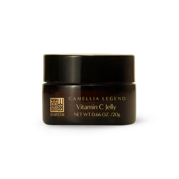 Camellia Vitamin C Jelly – A Morning Boost and a Night Recovery - The Vitamin C jelly is enriched with camellia extract. We designed an innovative formula concept in which the Vitamin C is micro-emulsified which helps to stabilize and deliver it. The micro-emulsion will penetrate the skin faster than a regular emulsion, which helps Vitamin C to perform at optimum efficacy. The jelly can help to smooth down wrinkles, stimulating cell renewal and brighten the skin.