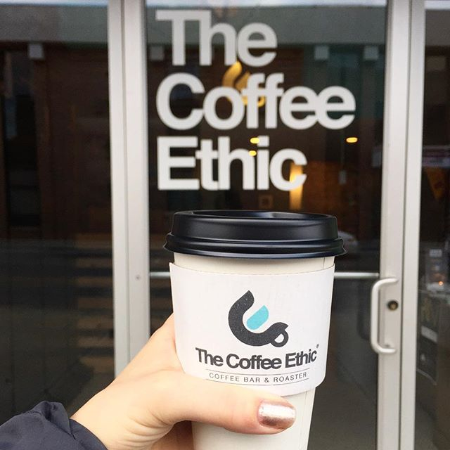 @thecoffeeethic is offering $1 batch brew coffee today ☕️ Each drink purchased earns you a chance to win some serious coffee swag. While you are there, don't forget to tell them happy 10th birthday!
