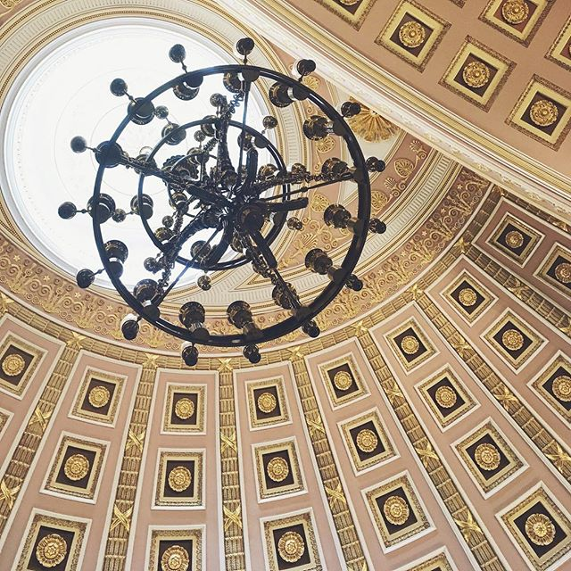 A few weeks ago, our chief community strategist @bethanygbell visited the National Statuary Hall Collection. There's something to be said about how the smallest details add up to create something beautiful, just like this ornate ceiling. We believe that applies to many other things in life, from your website content to your social strategy.