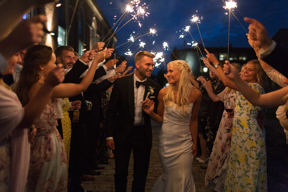 Bryllupsfotografering -