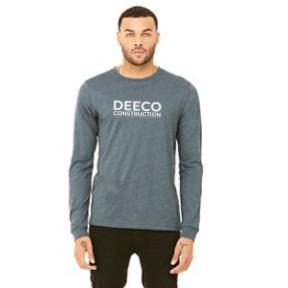 DEECO - MERCH HEATHER GREY LONG SLEEVE FRONT.jpg