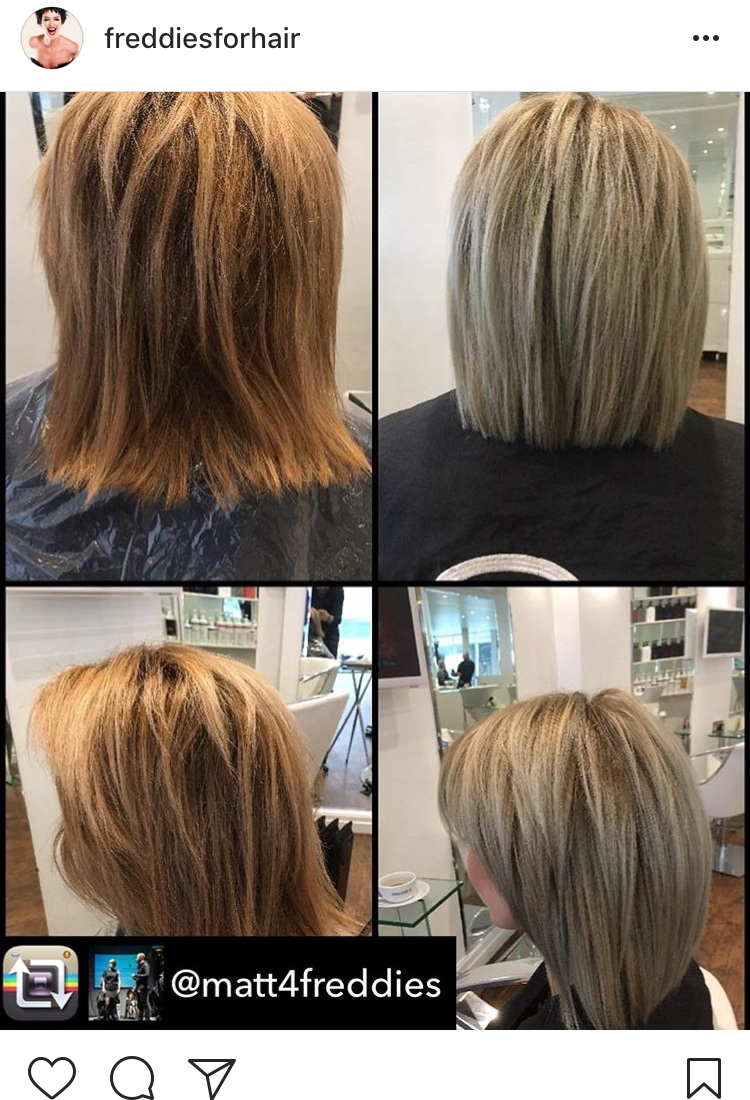 Today's Transformation thanks to Matt & Ciara from Freddie's, Rawtenstall.
