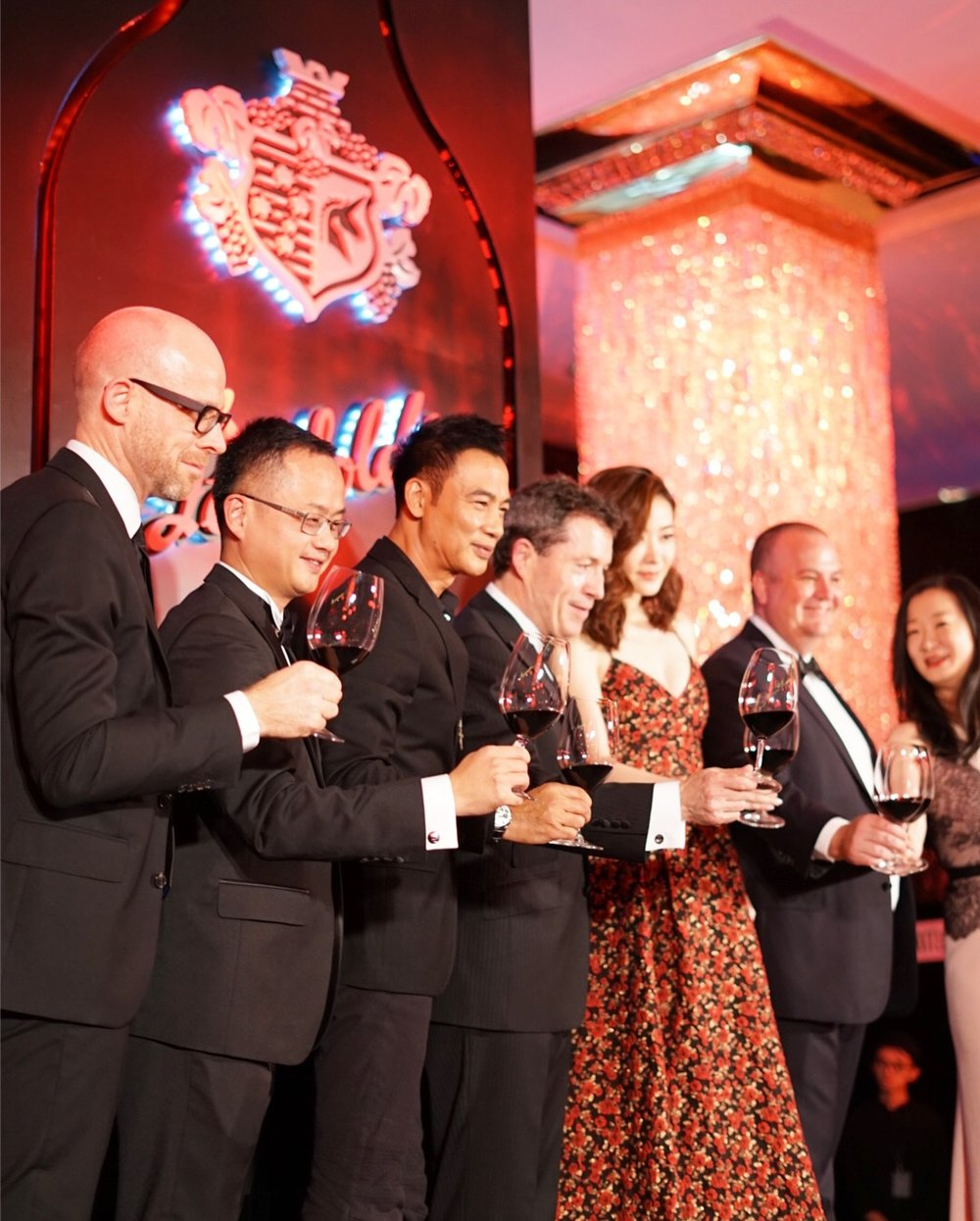 Simon Yam & Lynn attended The Penfolds Collection launch in Hong Kong
