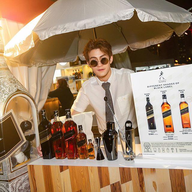 And thank you all for dropping by @johnniewalkerhkmo at @tasteofhongkong! See you next year! 🥃 #johnniewalker #blacklabel #whisky #malt #highball #drink #cheers #yum #vibe #chill #hongkong