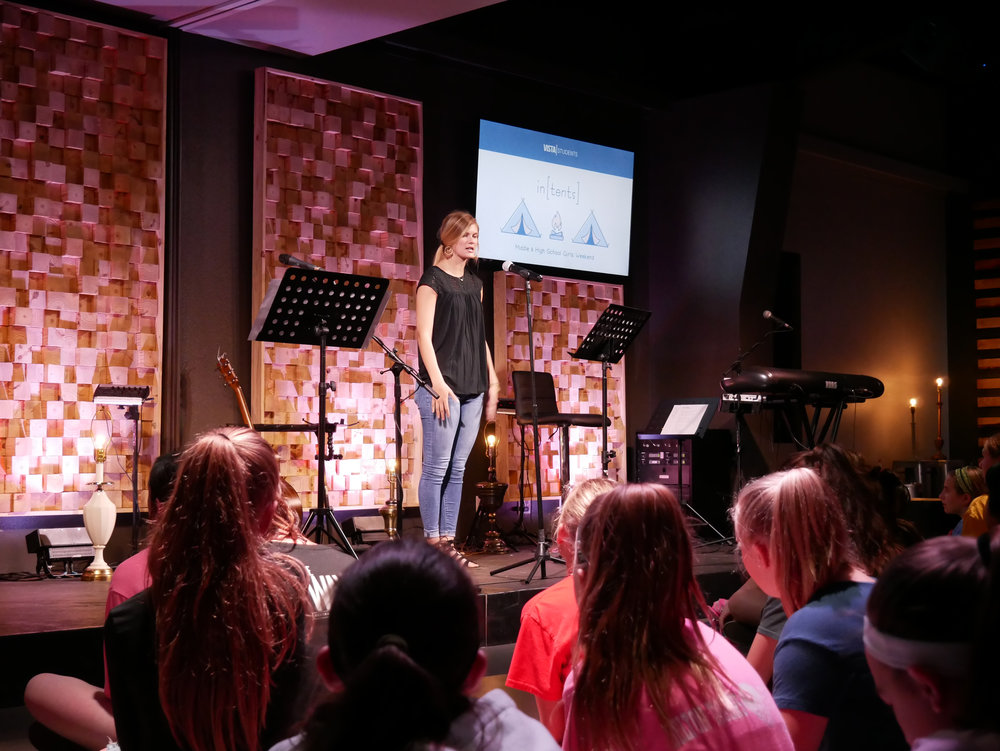 Sydney, our Vista College Girls Intern, discussed leaving everything behind to follow Jesus.