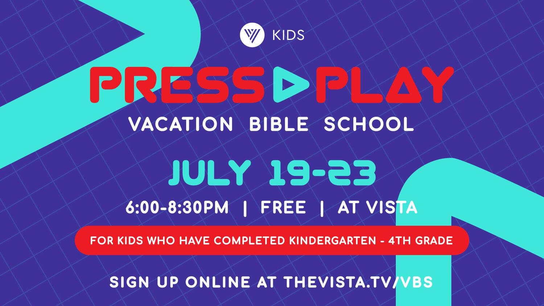 Kids: VBS Power Up! — Vista Community Church