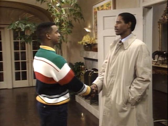 Tim Russ starring in 'The Fresh Prince of Bel-Air""