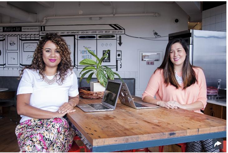 Shine founders Marah Lidey and Naomi Hirabayashi | PopSugar