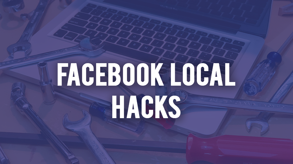 Facebook Local Hacks - Need to spread awareness of your company and its promotions on virtually no budget? This time tested technique has enabled many business owners and social media managers to get huge reach on their promotions