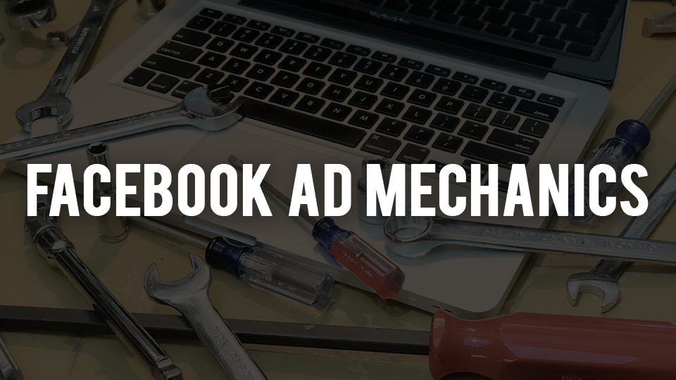 Facebook Ad Mechanics - Facebook ads offer easily the best bang-for-buck when it comes to marketing your business. This system breaks down the fundamentals into bite-size pieces, which turns the confusion of Facebook ads into an easy to implement form of marketing.