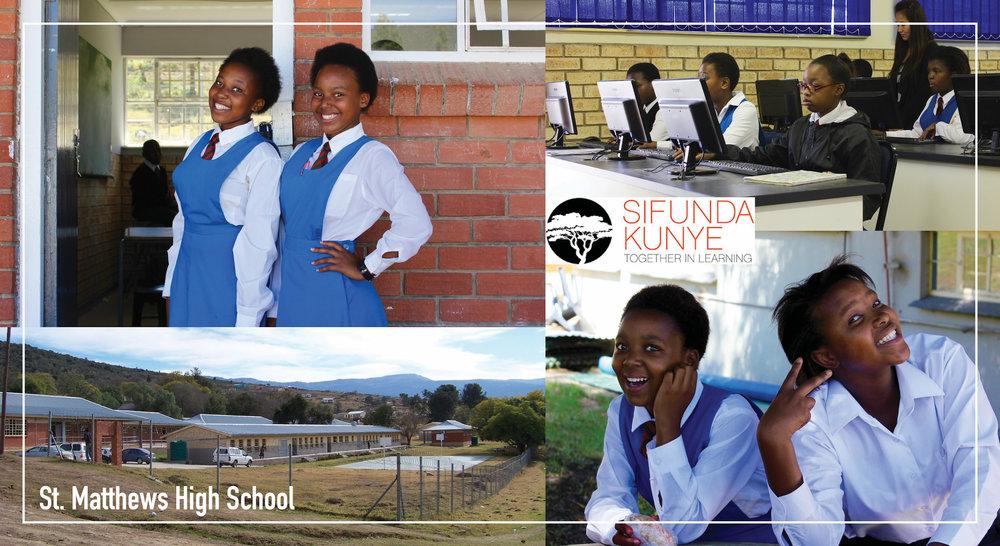 St. Matthews campus and boarding students. Photo courtesy of Sifunda Kunye.