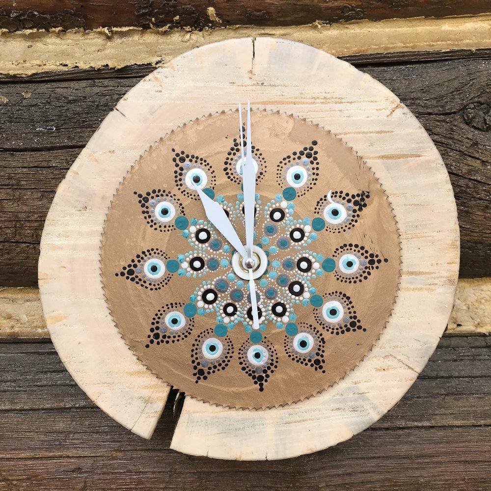 Mandala Saw Clock