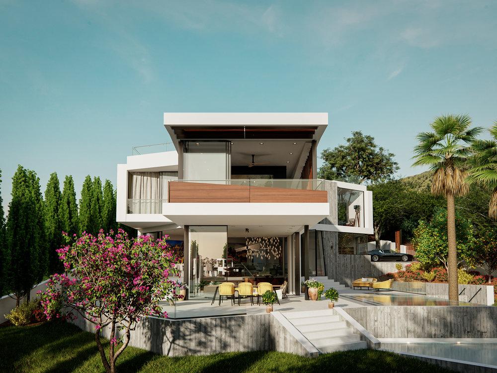 Can Furnet Villa Architectural Visualisation-009