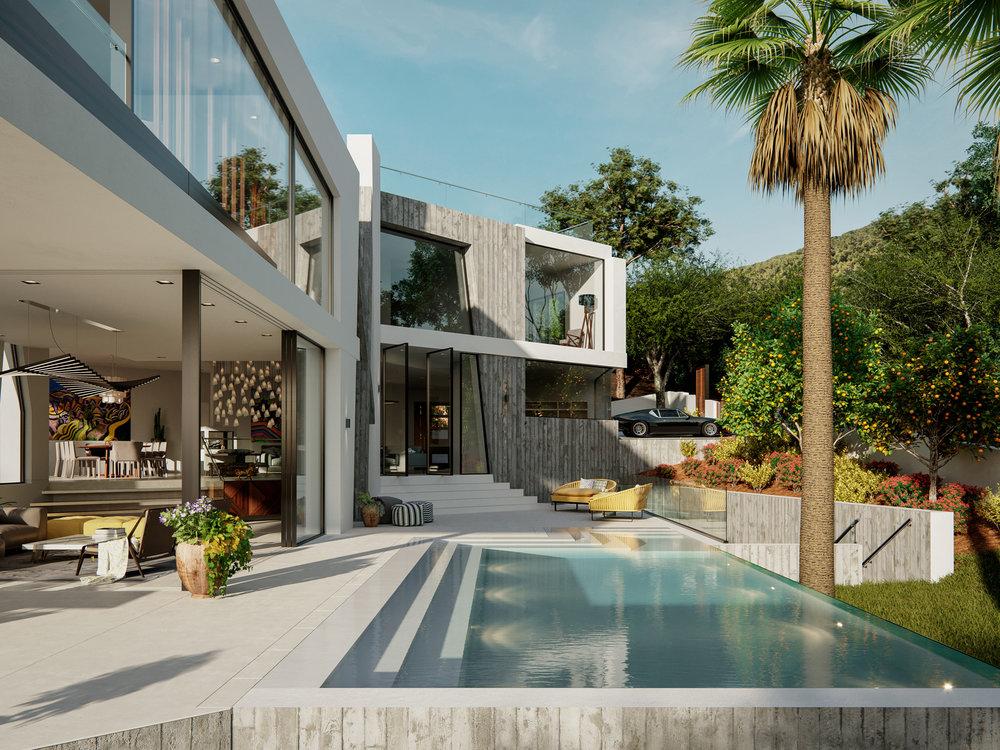 Can Furnet Villa Architectural Visualisation-010