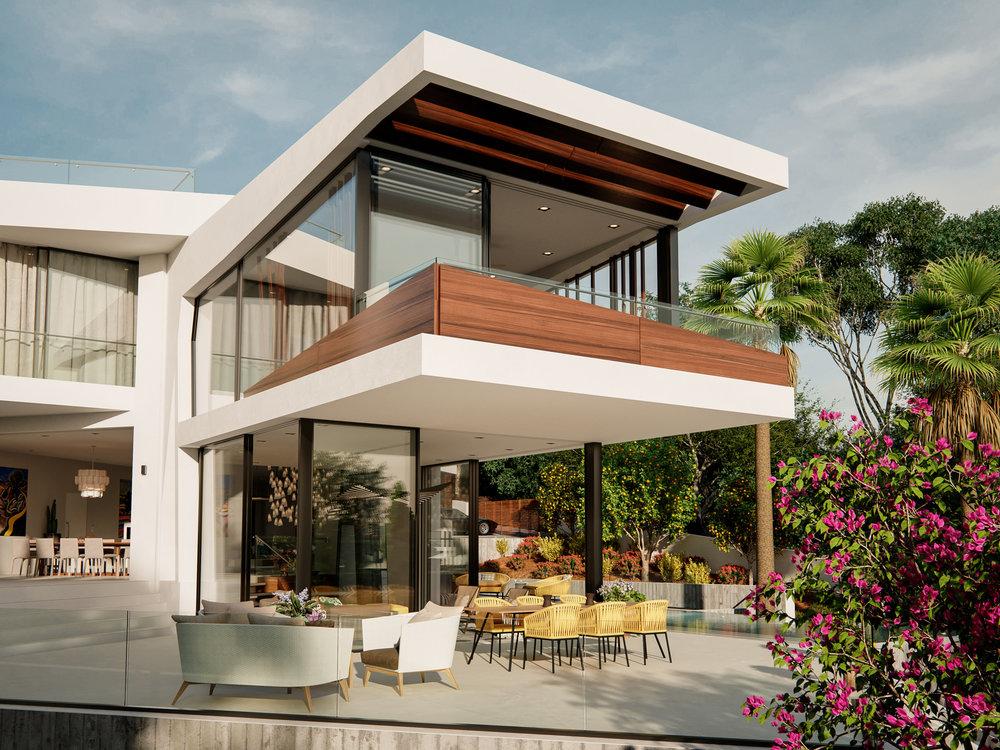 Can Furnet Villa Architectural Visualisation-014