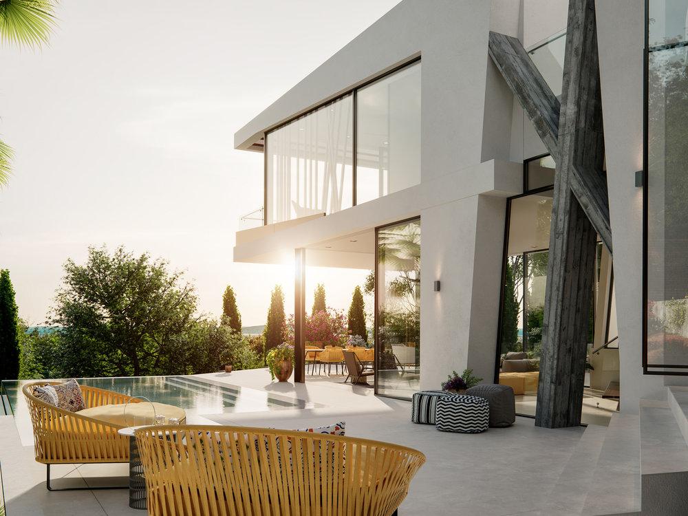 Can Furnet Villa Architectural Visualisation-012